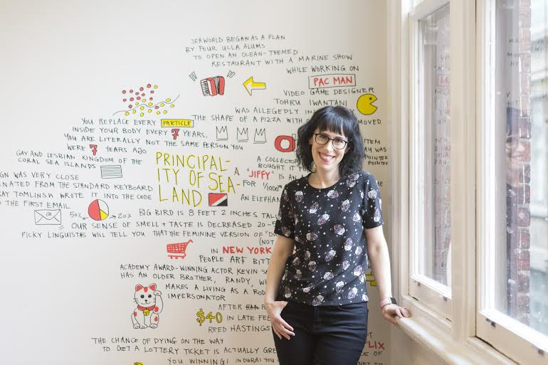 Innovation psychologist Amantha Imber advises people to think outside the box and step up your creative...