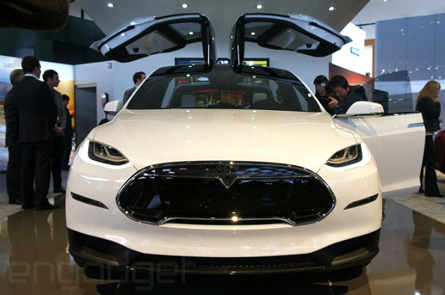 Tesla Built 35 000 Cars Last Year Preps For Model X Launch