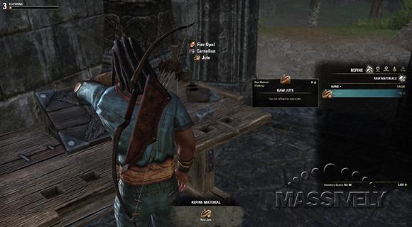 Elder Scrolls Online tailoring
