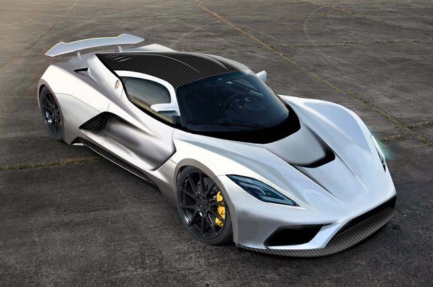 ヘネシーの新型モデル「ヴェノムF5」の最高出力は1400hp! 最高速290mph(約466キロ)を狙う
