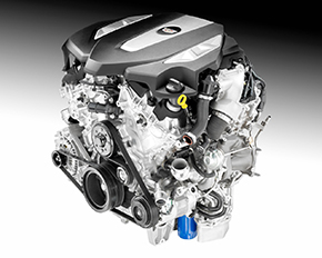 Cadillac 3.0-liter twin-turbo V6 engine