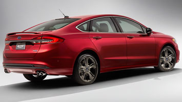 2017 ford fusion gets 325 hp sport model with awd autoblog. Black Bedroom Furniture Sets. Home Design Ideas