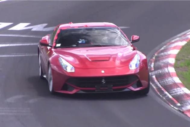 【ビデオ】フェラーリが「F12」で、「GT-R NISMO」の記録破りを狙ってる!?