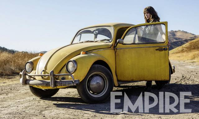 First Look At The Bumblebee Movie (Untransformed)