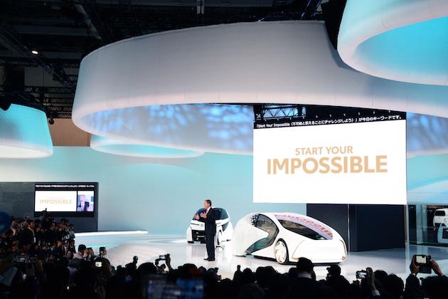 【東京モーターショー2017】トヨタの決意が込められたプレス・ブリーフィングを動画で振り返る