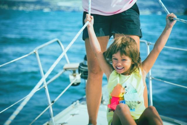 Antlos family sailing holidays