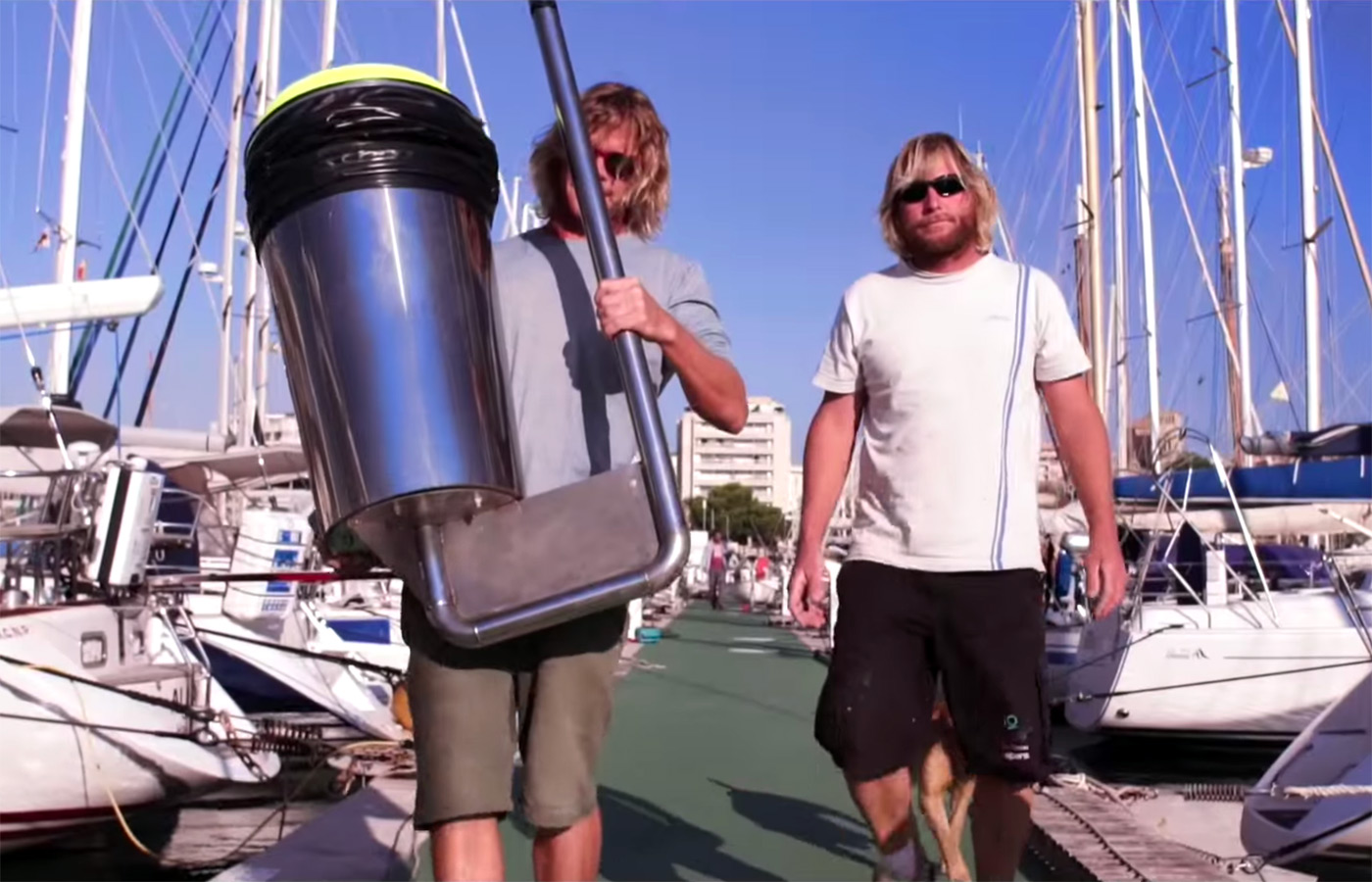 Image result for The UK ocean-cleaning 'Seabin