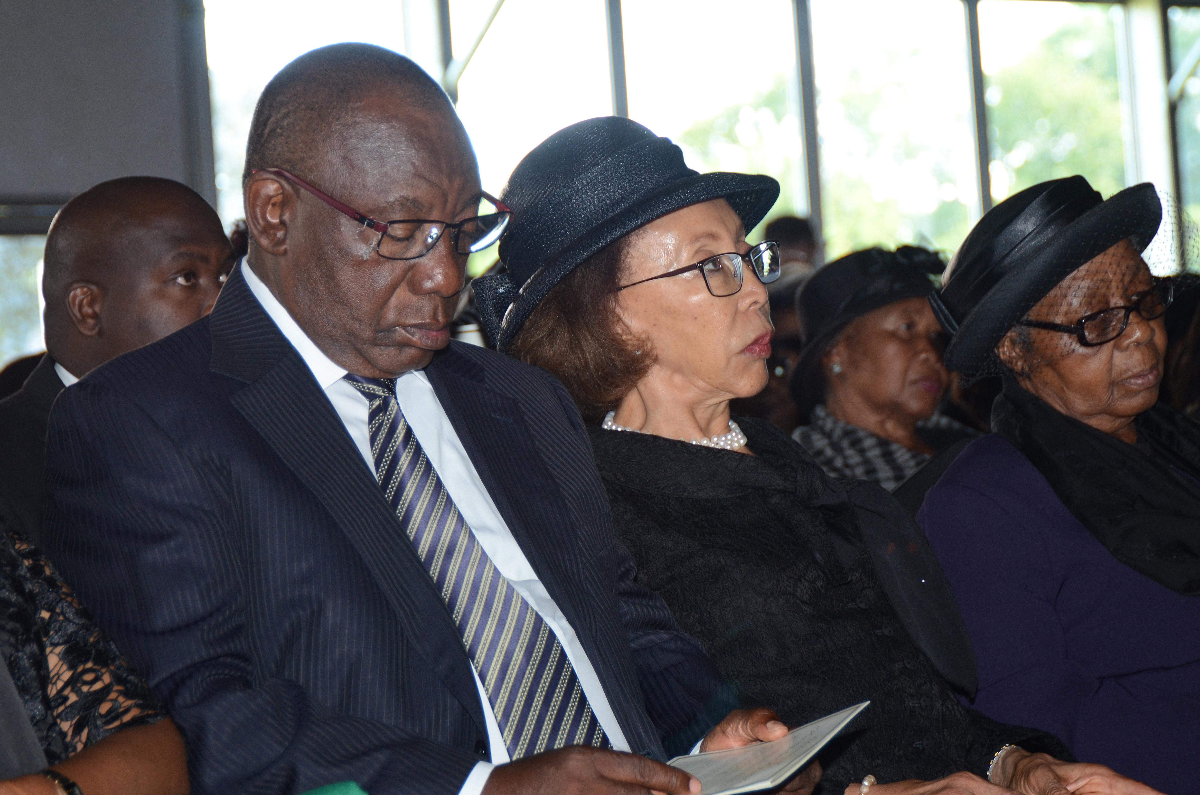 JOHANNESBURG, SOUTH AFRICA � JANUARY 16: Deputy President of South Africa and President of the ANC...