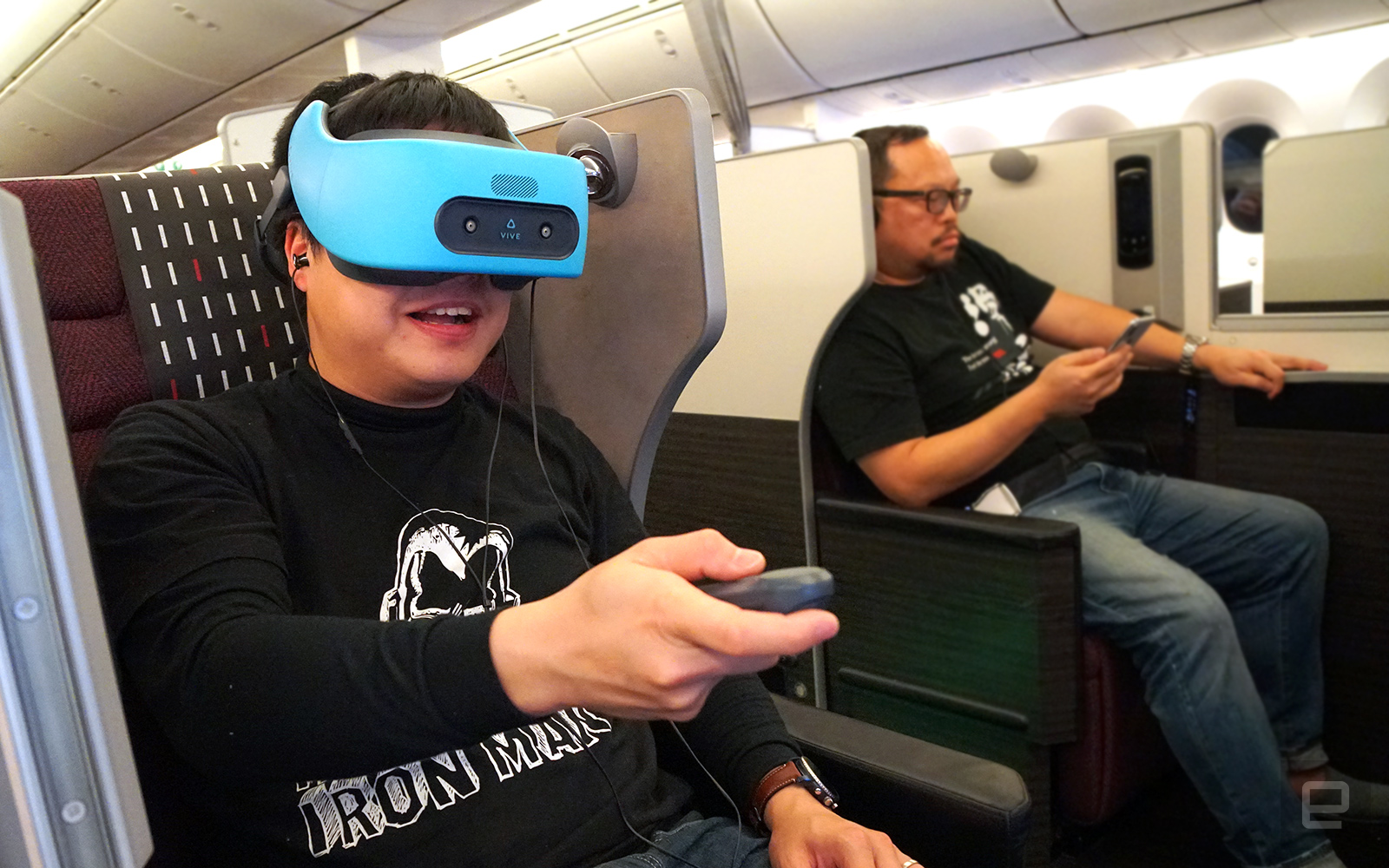 Flying with a VR headset isn't as dorky as it sounds | Engadget