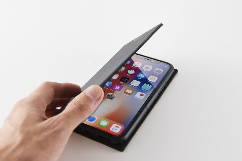 cab5d87ec3 トリニティは同社のSimplismブランドから、iPhone XS、iPhone XS Max向けの手帳型ケース「[FlipNote Slim]  フリップノートケース」を発売しました。