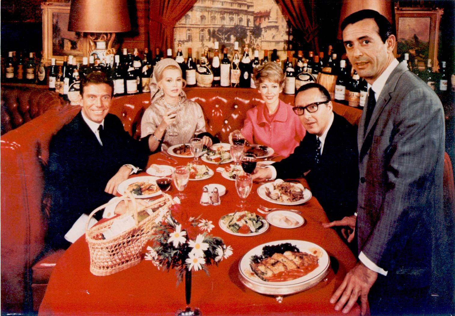 Jean Leon en su restaurante L'Scala