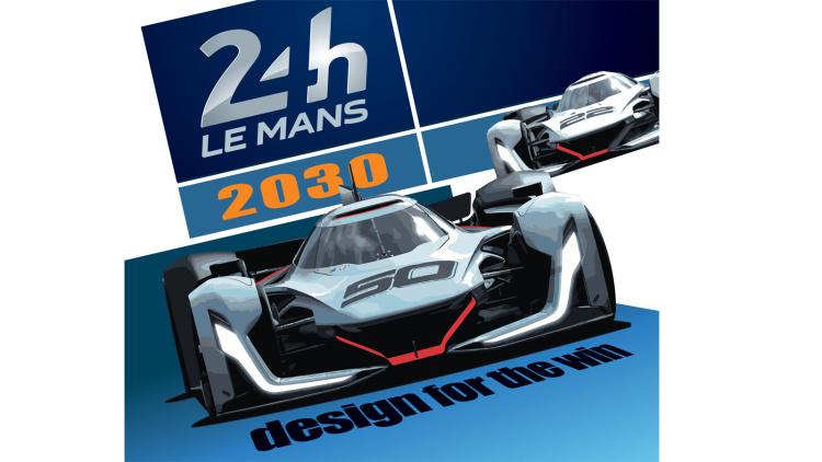2030年のル・マン参戦マシンを考案する、2017年ミシュラン・チャレンジ・デザイン受賞作品