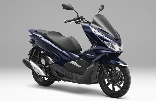 ついにスクーターもハイブリッドに!! ホンダ、世界初の量産2輪車用ハイブリッドスクーター「PCX HYBRID」を発表!!