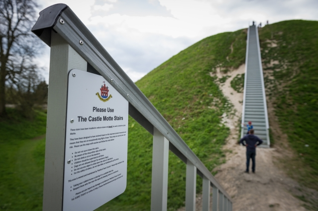 Castle Hill stairs