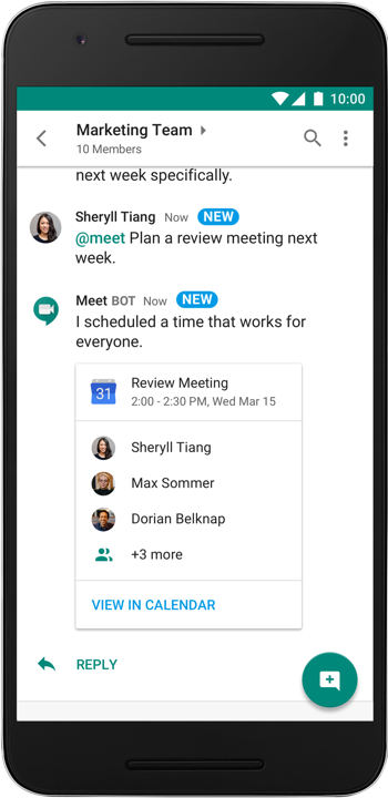 Google's Slack alternative is available starting today