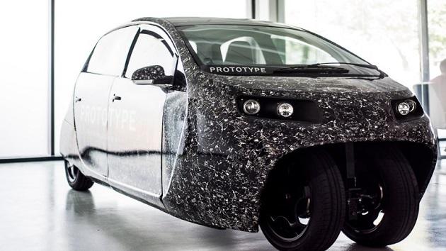 自社開発の電気自動車でカーシェアリングとライドシェアを融合させた新サービス「Spiri」