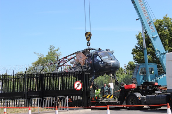 Gosport helicopter wreck