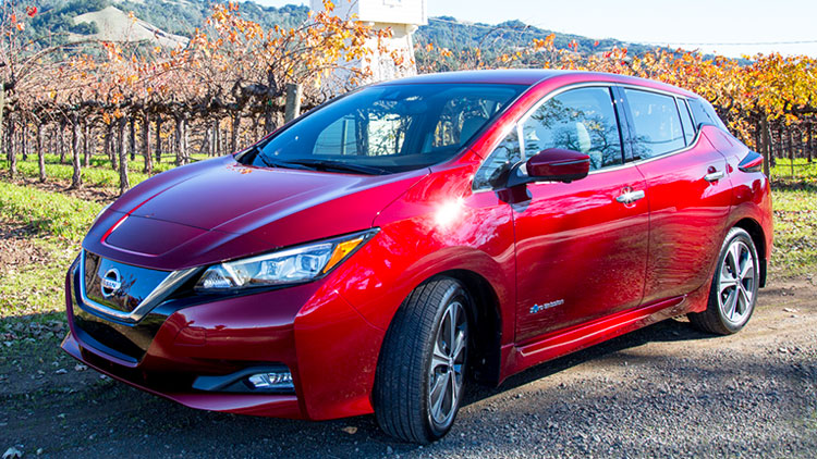 ProPilot in 2018 Nissan Leaf hands-on