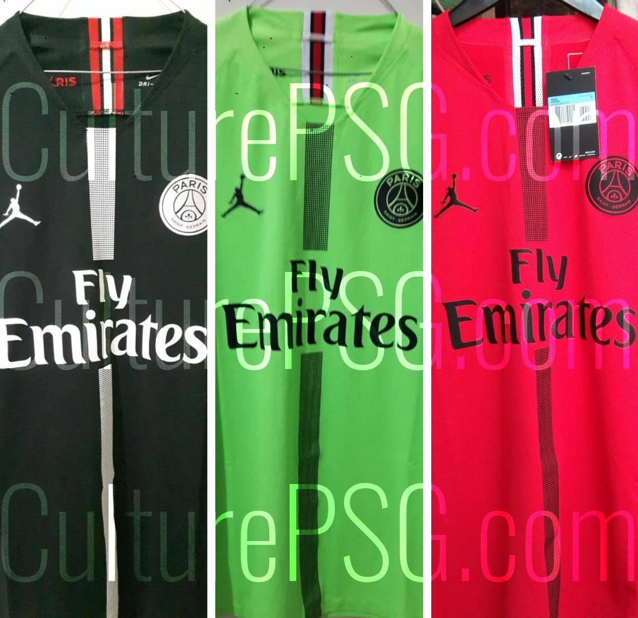 4912abac4dc07 PSG x Air Jordan: la collection de maillots que les joueurs ...