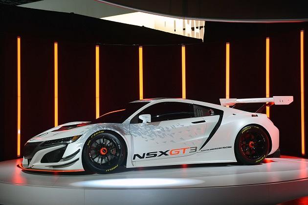 【NYオートショー2016】アキュラ、FIA GT3規定に合わせて開発したレース用マシン「NSX GT3」を公開