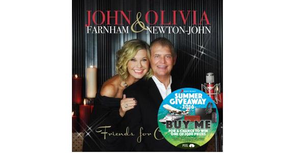 Johnny Farnham and Olivia Newton-John Have Their Own Radio