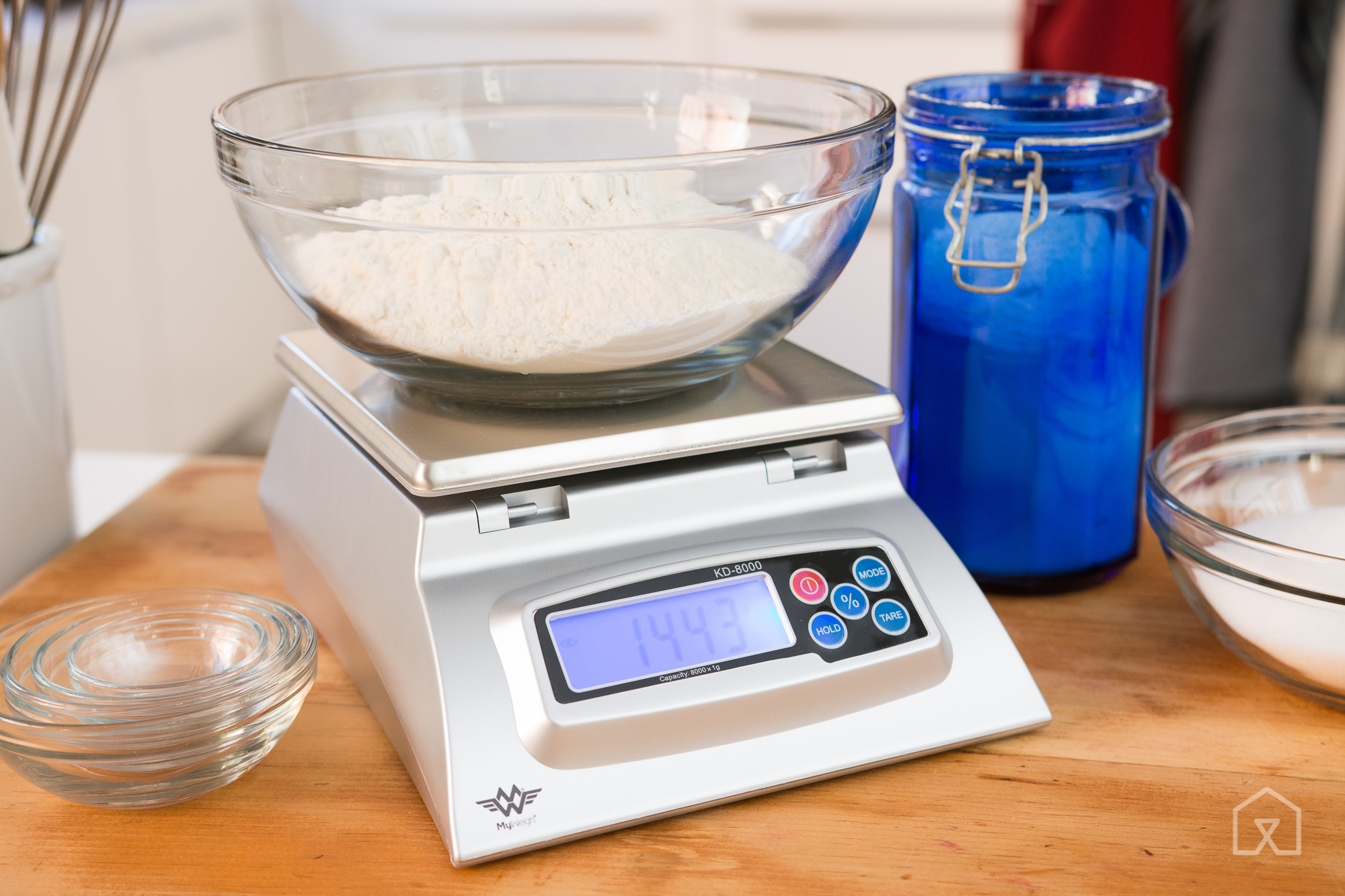 With Its Ability To Display In Baker S Percentages The My Weigh Kd8000 Is Best For Advanced Home Bakers And Pros Photo Michael Hession