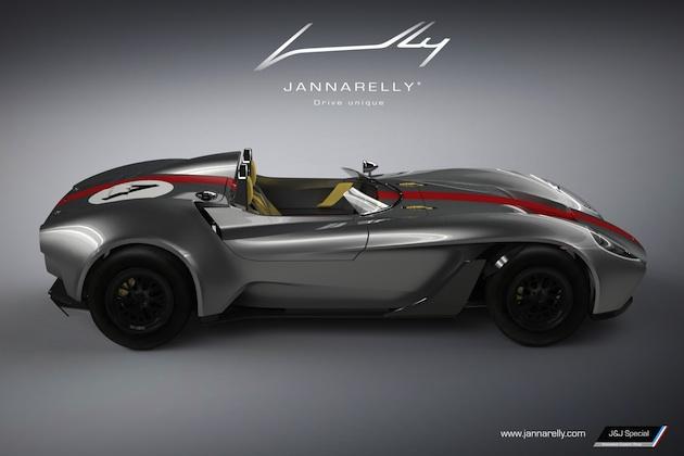ジャナレリー、軽量スポーツカー「デザイン-1」を今夏より約650万円で販売開始