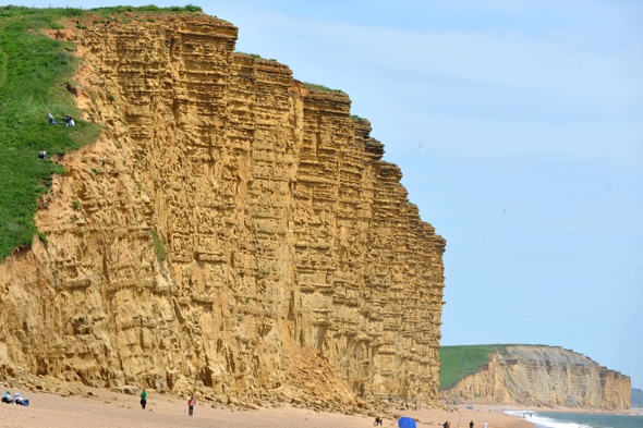 Broadchurch film crew blasted for shooting scene on 'unstable' cliff face