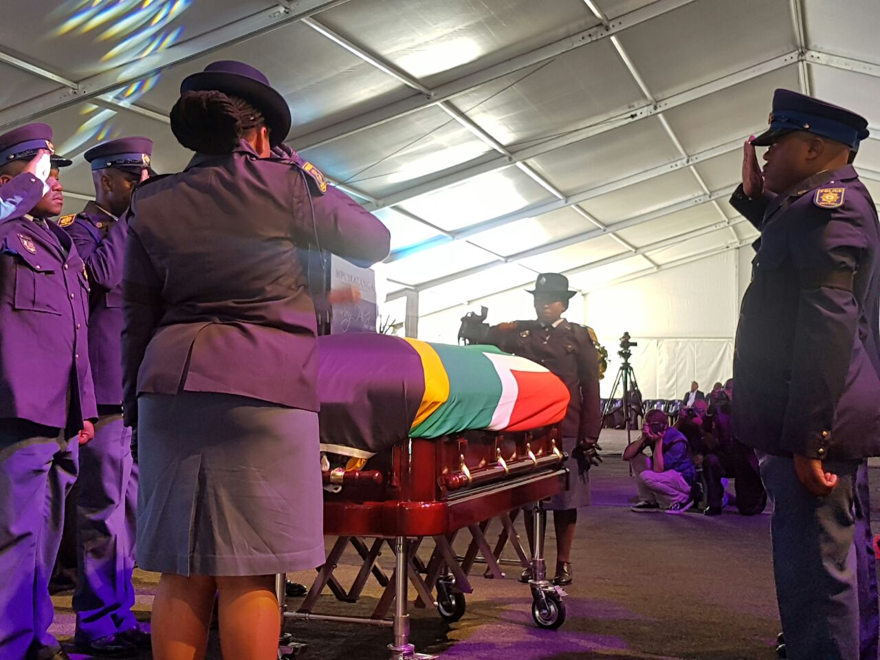 Ray Phiri's Send-Off Attended By A-List Artists And