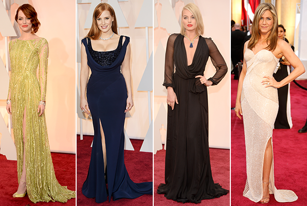 Best looks from the 2015 Vanity Fair Oscars after party - AOL ...