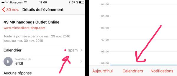 Comment vous débarrasser des spams qui polluent votre calendrier