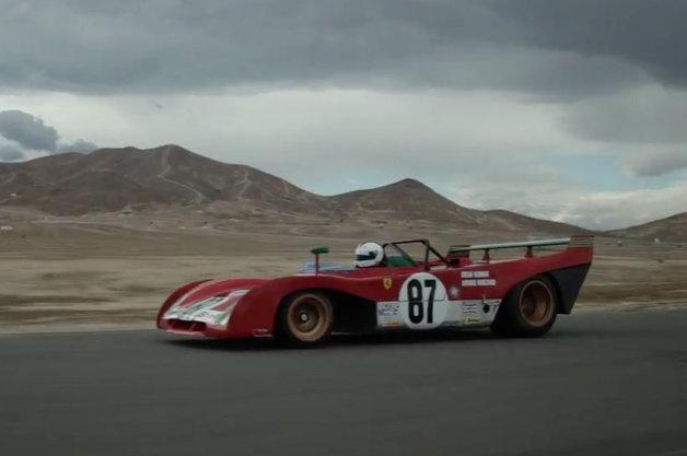 【ビデオ】外観もエンジン音も最高! フェラーリのレース用プロトタイプ72年製「312PB」