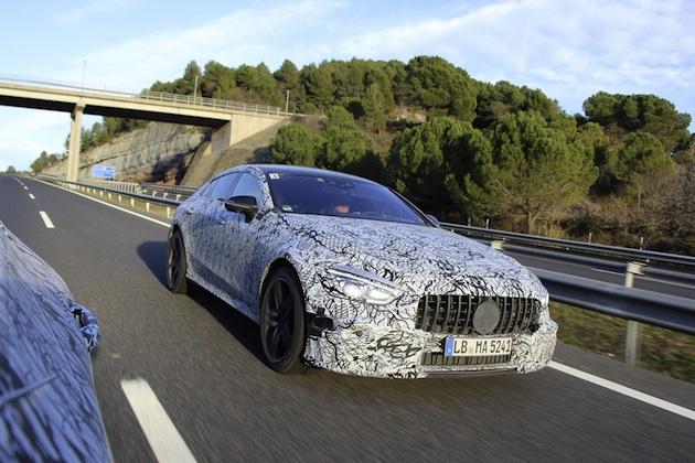 メルセデス・ベンツ、4ドアの「メルセデスAMG GT」をジュネーブ・モーターショーで公開すると発表!