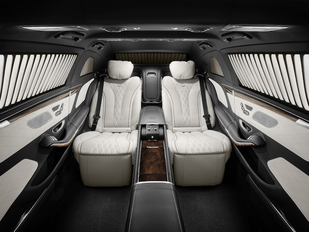 Mercedes-Maybach S 600 Pullman Guard. ;  Mercedes-Maybach S 600 Pullman Guard.;
