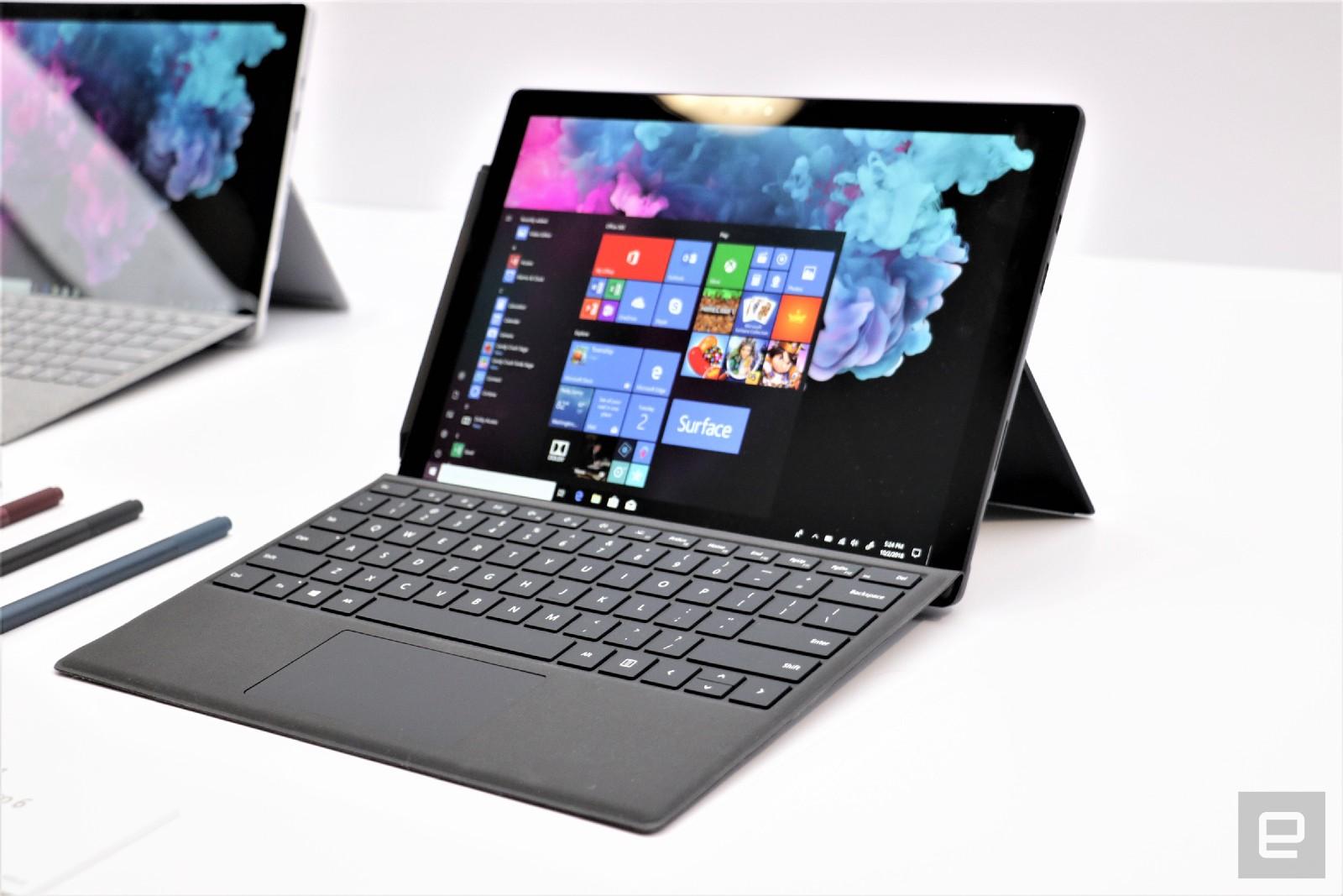 Surface Pro 6 主站動手玩:外觀不變、速度加快
