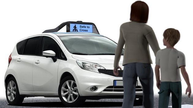 新興企業のDrive.ai、絵文字でコミュニケーションを図る自動運転車を開発中