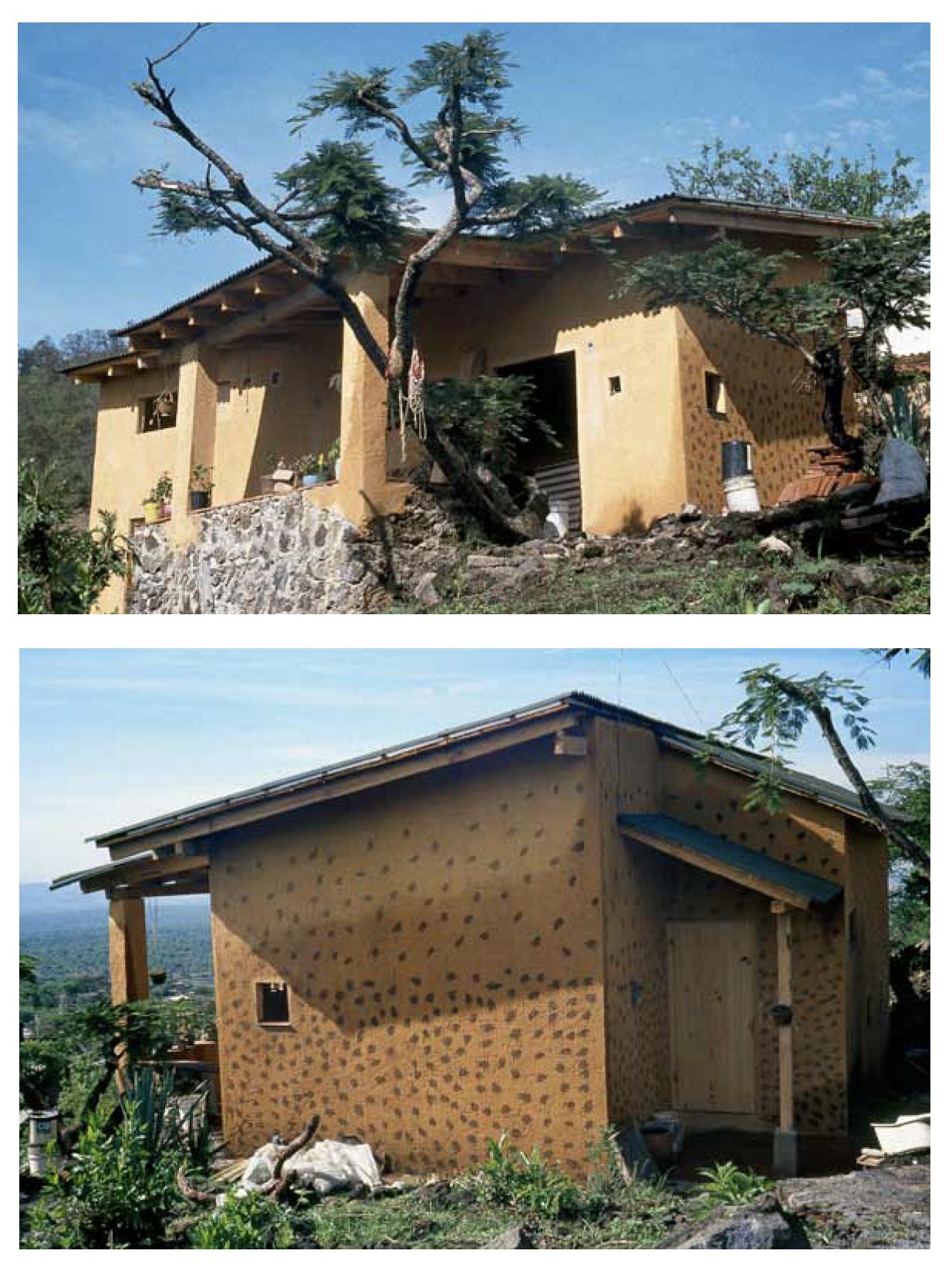 """Casa de Margarita Musiño y su familia, en Morelos. """"Cuando hicimos el proyecto de esta casa no había..."""