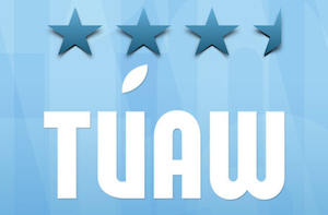 TUAW rating, three and one half stars out of four stars possible