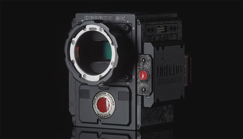 Red\'s latest \'Weapon\' is an 8K full-frame camera