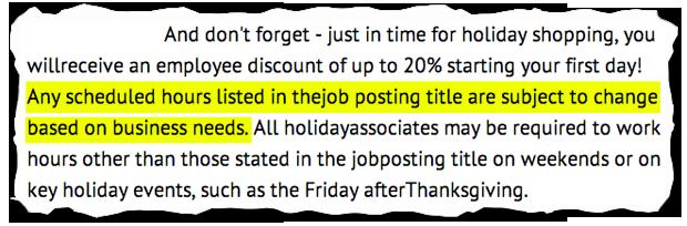 job descriptions decoded  macy u0026 39 s seasonal employee