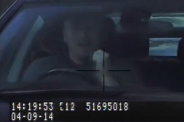Speeding driver