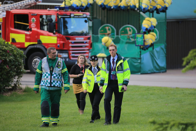 Alton Towers rollercoaster crash teen in critical condition