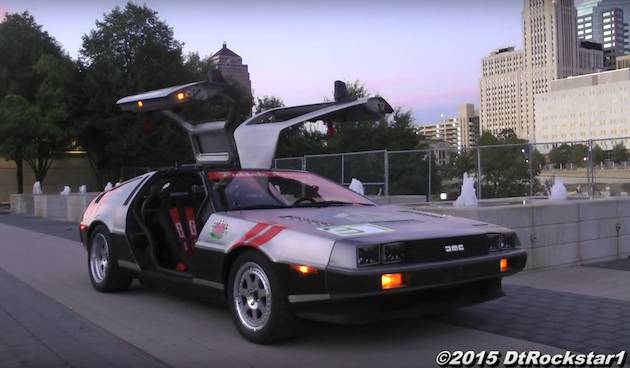 【ビデオ】レース仕様エンジンを搭載した「デロリアン DMC-12」のオンボード映像!
