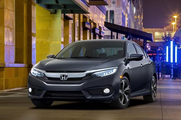 2016年型ホンダ「シビック」他4車種が、米IIHSで最高の安全評価TSP+を獲得(ビデオ付)