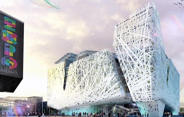 2015 年世界博覽會的意大利館是懂得潔淨空氣的!