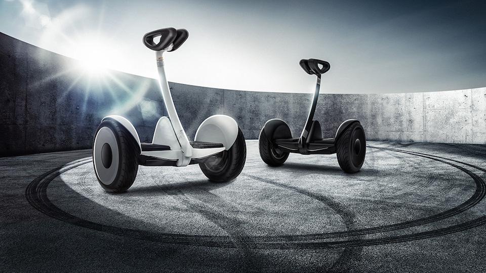 小米旗下的 Ninebot 還帶來了一款 1,999 人民幣的兩輪平衡車