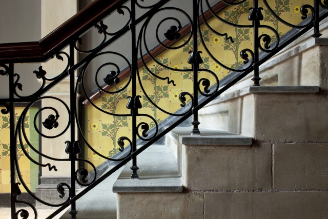 Conservatorium staircase and tiles