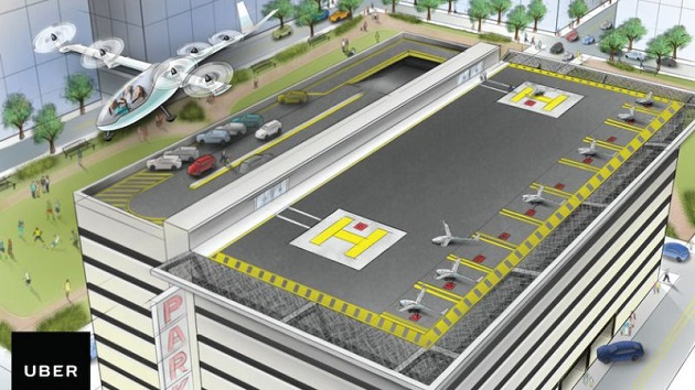Uber、空飛ぶタクシーの実現に向けた「Uber Elevate」計画を発表