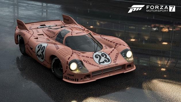 『Forza Motorsport 7』、7月アップデートでポルシェの「ピンク・ピッグ」や「トップギア・カーパック」が登場!