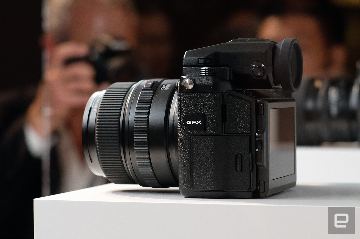 Fujifilm's GFX 50S is a mirrorless camera with a giant sensor